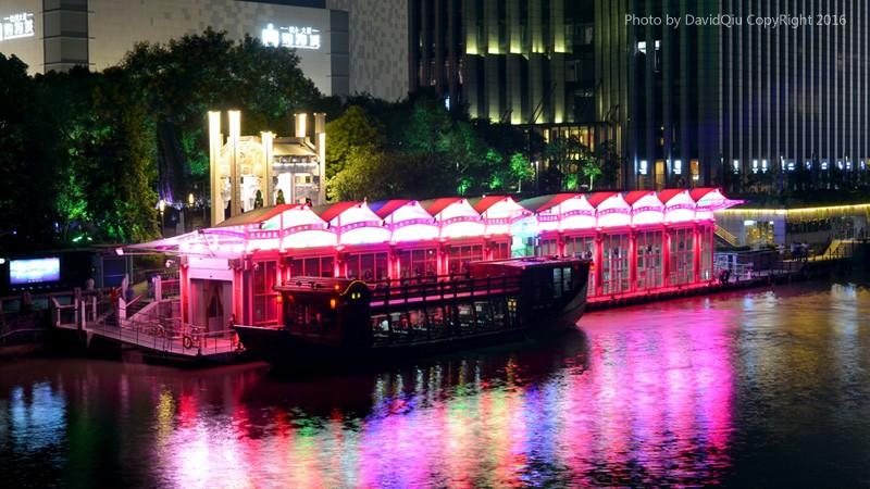 杭州运河梦幻夜游